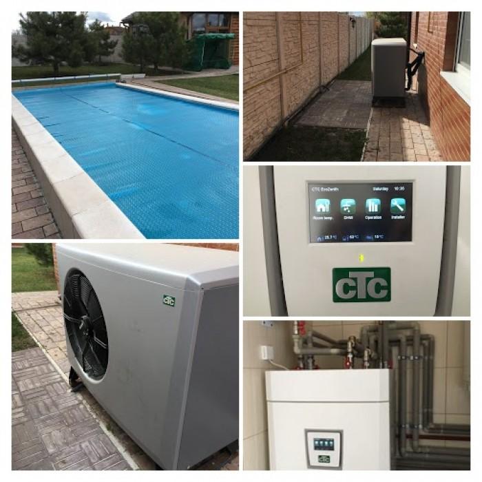 Примеры объектов, где работают тепловые насосы в Украине