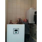 Монтаж теплонасоса воздух-вода, Новоалександровка (Днепр)