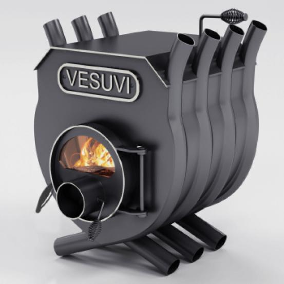 Котел булерьян Vesuvi тип 01 с варочной плитой и стеклом