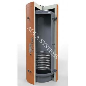 Теплоаккумулятор AQS-T1SS 350 л с нижним нерж. змеевиком