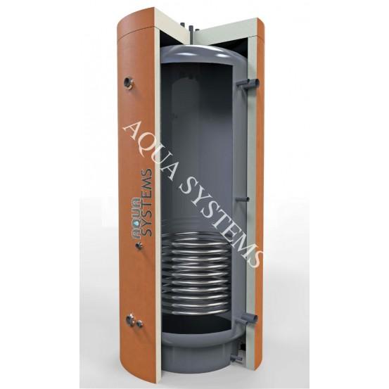 Теплоаккумулятор AQS-T1SS 1500 л с нижним нерж. змеевиком