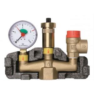 """Группа безопасности Afriso KSG (1"""") для систем отопления до 50 кВт"""