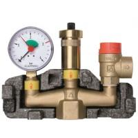 """Группа безопасности Afriso KSG maxi (1"""") для систем отопления до 100 кВт"""