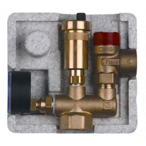 """Группа безопасности Afriso KSG mini (1"""") для систем отопления до 50 кВт"""
