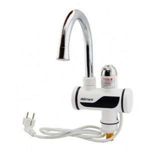 Кран водонагреватель Delimano WJ7 с дисплеем (нижнее подключение)