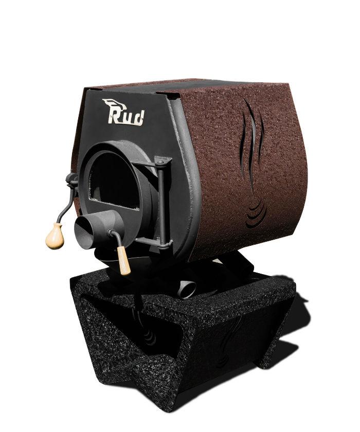 Конструктивные особенности печей булерьян Rud Кантри с варочной поверхностью тип 02