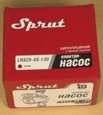 Комплектация поставки циркуляционного насоса Sprut LRS-25-4S 130