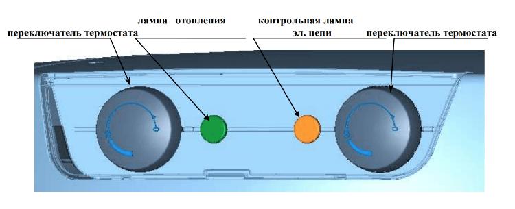 Панель управления бойлера косвенного нагрева Drazice OKC NTR/2,2