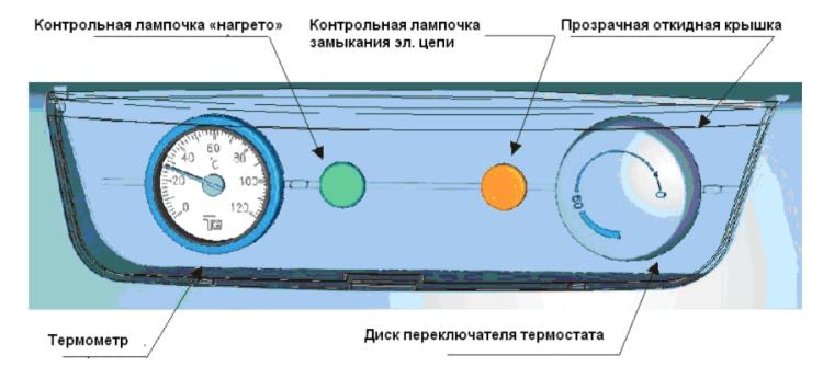 Панель управления бойлера косвенного нагрева OKC NTR