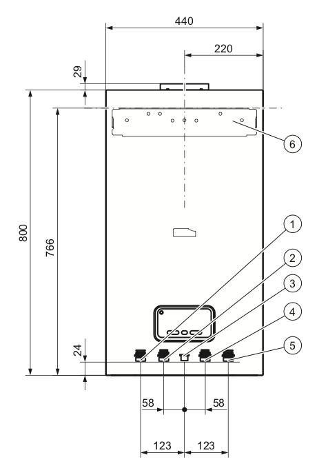Устройство и подключения Protherm Panther 12 KTO