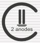 2 анода