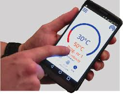 Управление бойлером Kospel Slim ECO через приложение смартфона и Wi-Fi