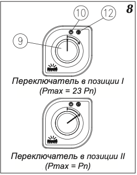Схема управления режимами работы проточного водонагревателя Kospel Luxus KDH