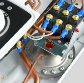 Автоматическое включение 2 ступеней мощности Kospel PPH2